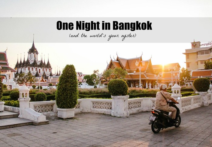 One Night in Bangkok (and the world's your oyster) | Perogy and Panda
