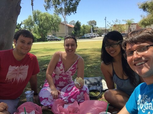 Picnic in Long Beach