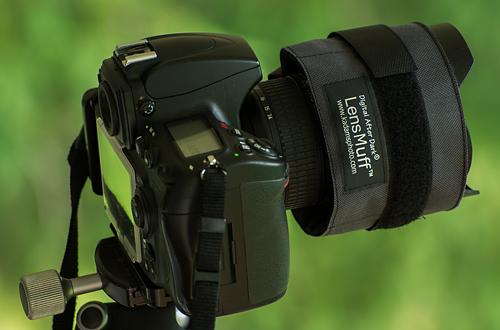 LensMuff Camera Lens Dew Prevention