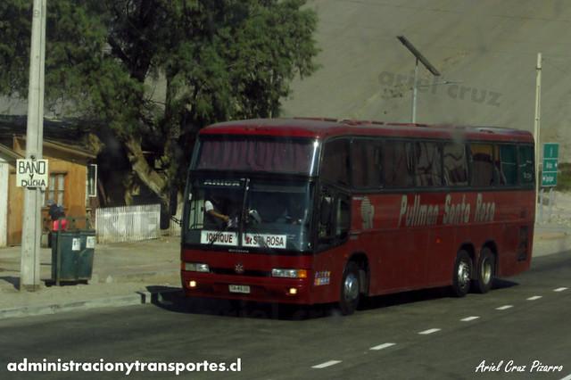 Pullman Santa Rosa - Cuya - Marcopolo Paradiso GV1150 / Mercedes Benz (TA4535)