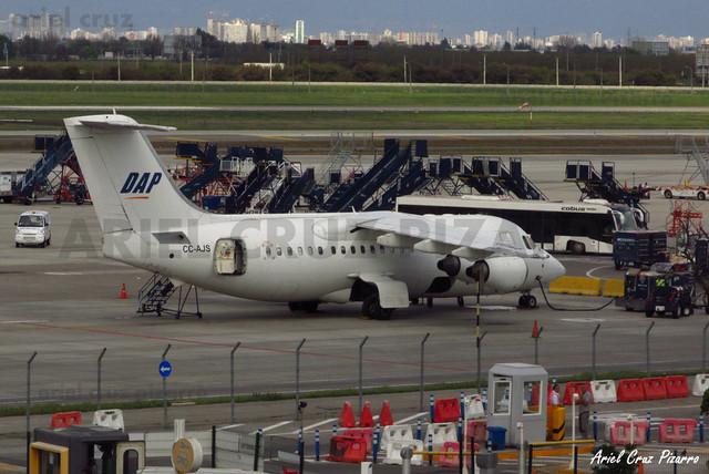 Aerovías DAP - Santiago (SCL) - BAe 146 CC-AJS