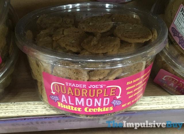 Trader Joe's Quadruple Almond Butter Cookies