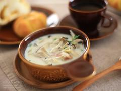 きのこスープ 20151011-IMG_3109