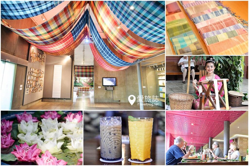 《曼谷景点推荐》金汤普森泰丝博物馆:附设精致美食餐厅