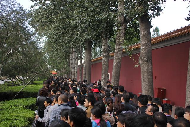 Chinese crowds