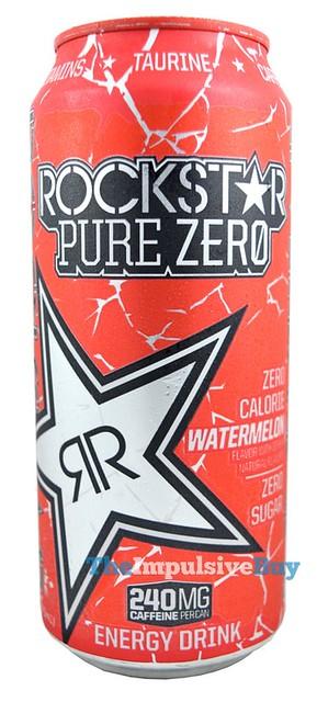 Rockstar Pure Zero Watermelon Energy Drink