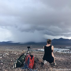 #sunday #morning #storm #watching #rain #whpescape #lanzarote from a #vulcano #clouds #wanderlust #travel #travelgram #adventure #timelapsing #landscape #gorillapod #backpacks #vsco #vscocam #españa #travelphotography
