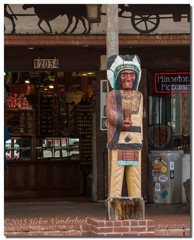 Native American Statue