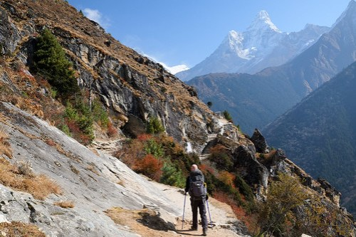 Towards Ama Dablam
