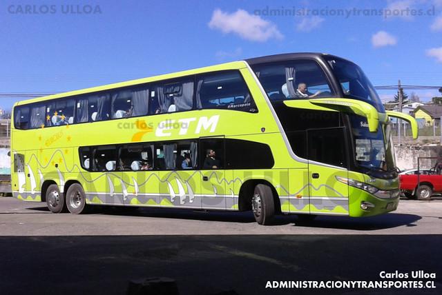 Buses ETM - Ancud - Marcopolo Paradiso 1800 DD / Scania (FLHL85)