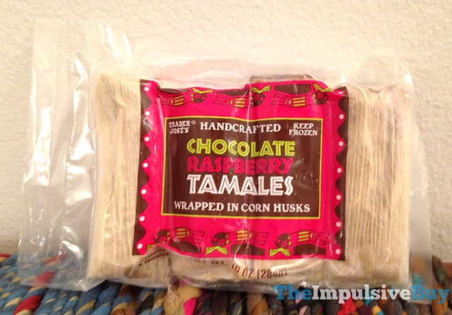 Trader Joe's Chocolate Raspberry Tamales