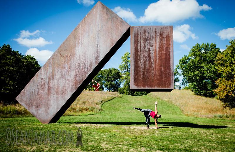 Adventure Day - Menashe Kadishman 'Suspended' -  Storm King Art Center - New Windsor NY - 2015