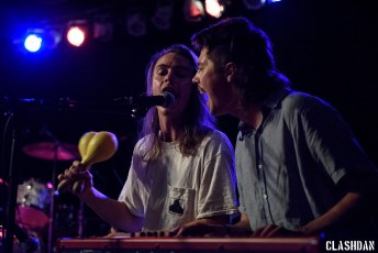 The Nude Party @ Cats Cradle in Carrboro NC on October 12th 2016