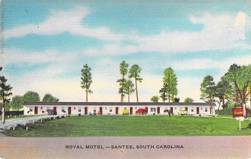 Royal Motel Santee front