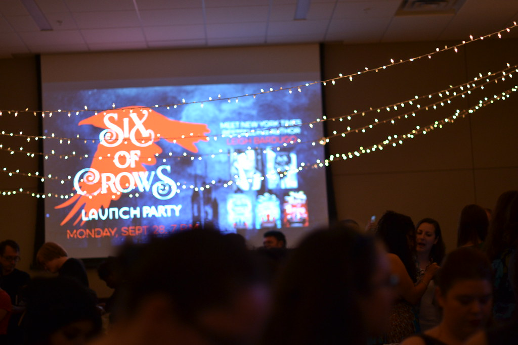 Six of Crows Launch Party