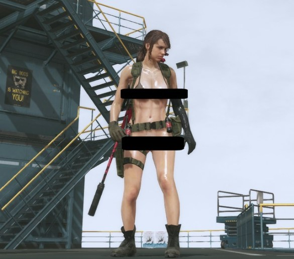Metal Gear Solid 5 - Quiet Nude