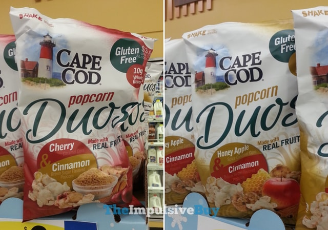 Cape Cod Popcorn Duos (Cherry & Cinnamon and Honey Apple & Cinnamon)