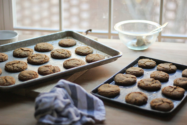 Molasses Cookies| Southern Soufflé