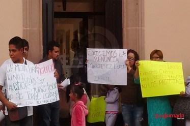 Se manifiestan habitantes de Ébano contra alcalde electo por desvío de recursos