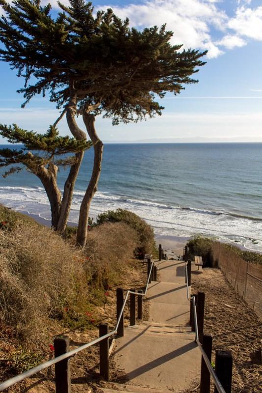 12.24. Santa Barbara. Mesa Lane Beach