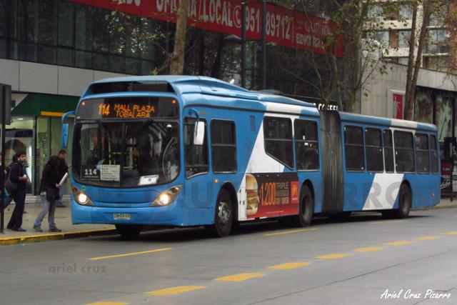 Transantiago - Inversiones Alsacia - Marcopolo Gran Viale / Volvo (ZN5398)