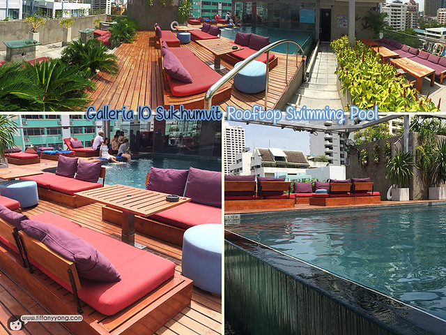 Galleria 10 Rooftop Swimming Pool