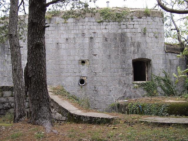 Exterior of Fort Vrmac