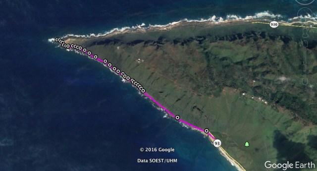 Kaena Point Maps