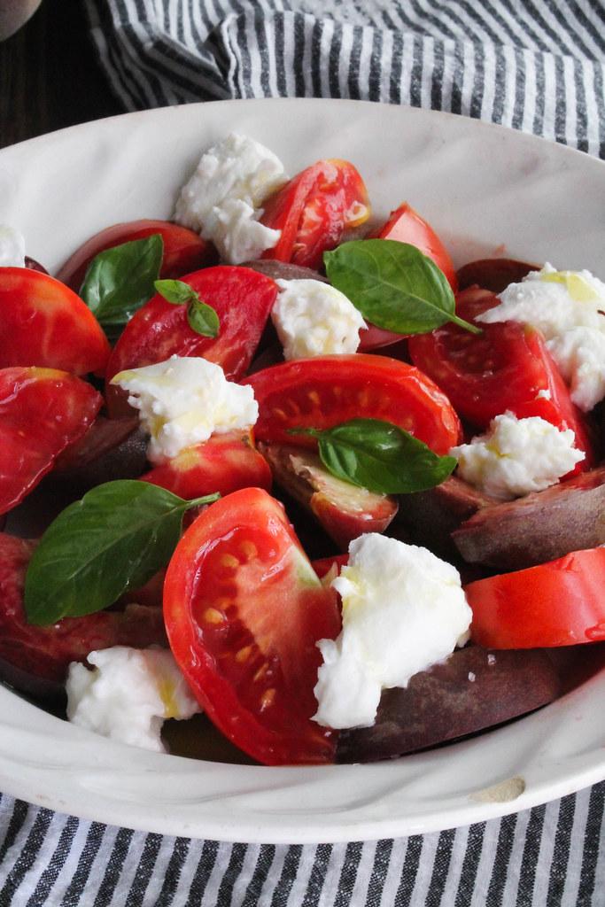 recette de salade de tomate