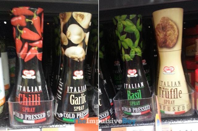 Turci Italian Sprays (Chili, Garlic, Basil, and White Truffle)