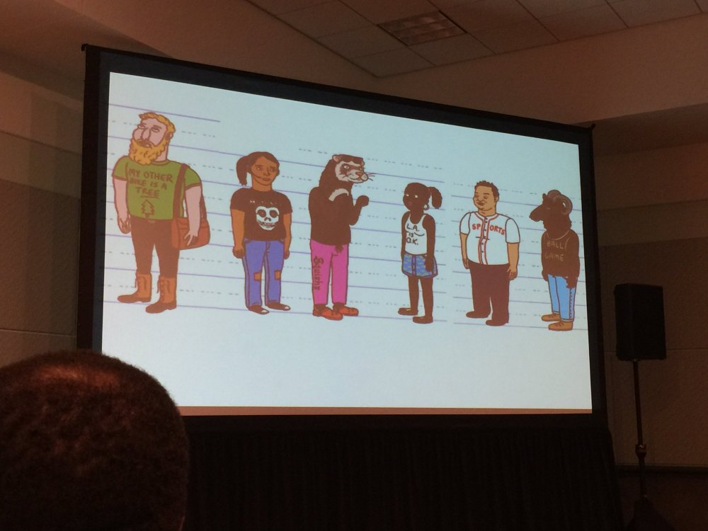 Development of Bojack characters