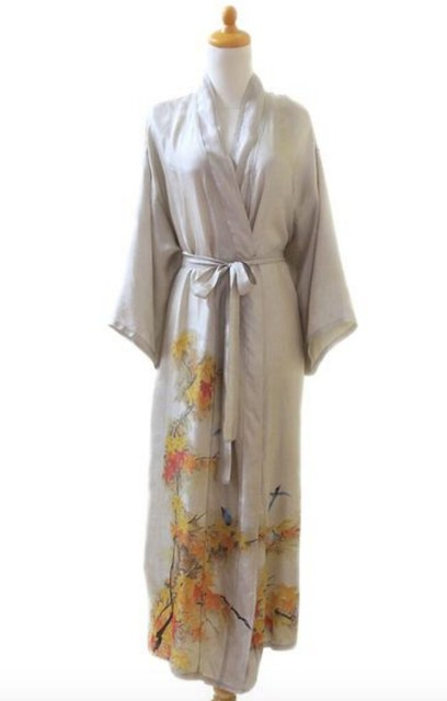 UNICEF Handcrafted Silk Robe
