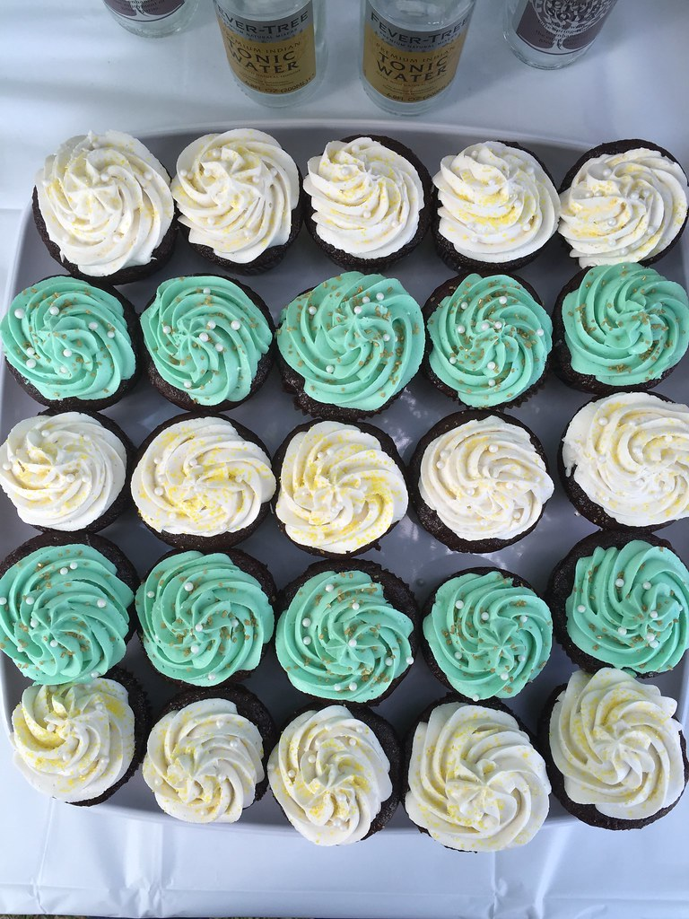 GF chocolate baby shower cupcakes by Natural Comfort Kitchen
