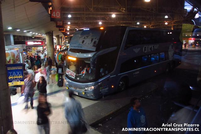 Ciktur - Santiago - Marcopolo Paradiso 1800 DD / Volvo (DSDG84)