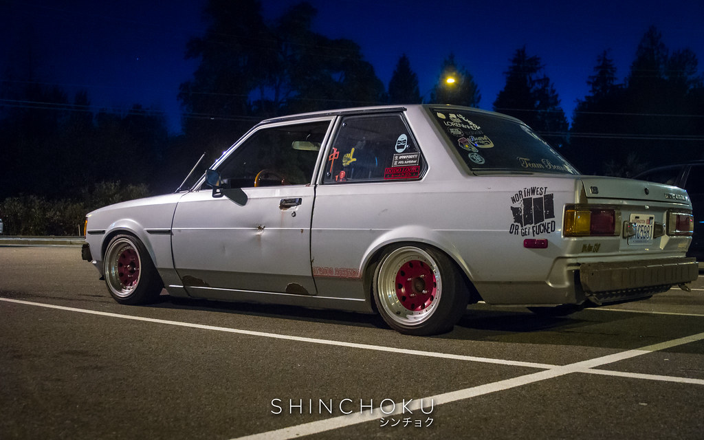 Justin Nigro and his TE72 Toyotal Corolla