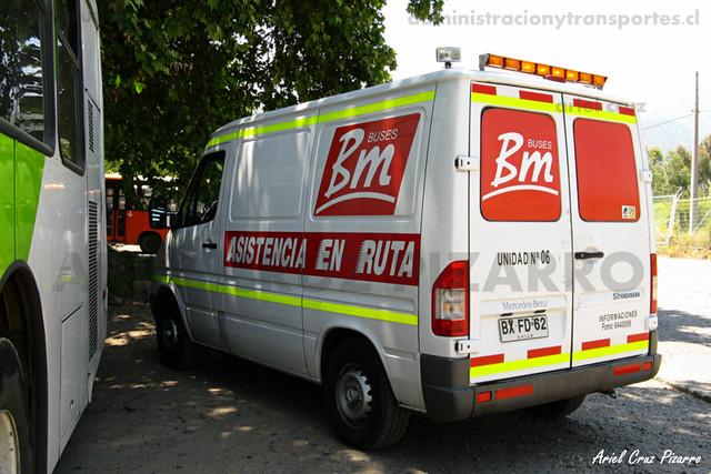 Asistencia en Ruta - Metbus