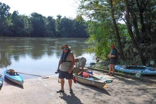Savannah River Paddling-001