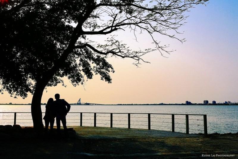 依偎倩影(lover silhouette)