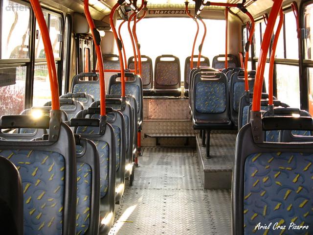 Transantiago - Redbus Urbano - Marcopolo Torino / Mercedes Benz (XJ6802) (208)