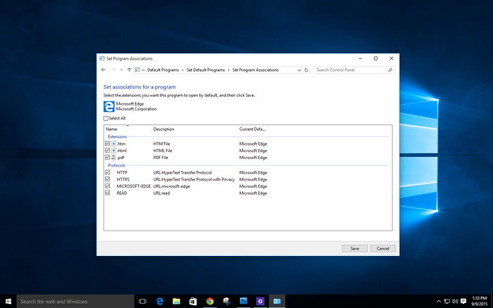How to customize the default app in Windows 10-10