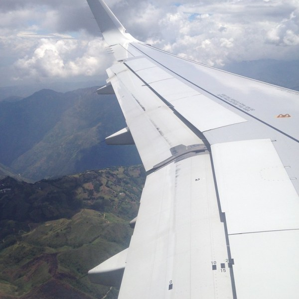 Over Colombia