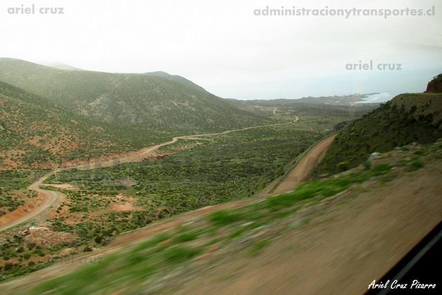 Camino Mina El Tofo
