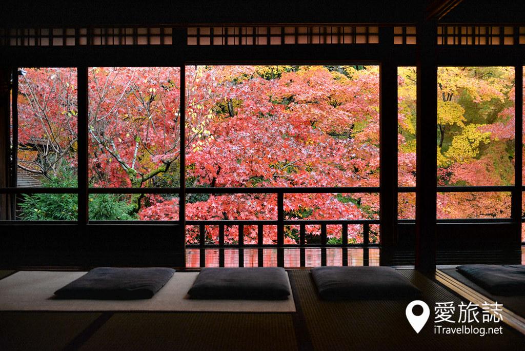 京都赏枫景点 琉璃光院 16