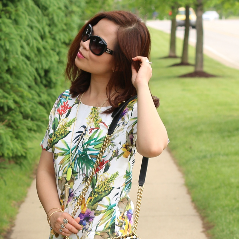 Botanical-print-dress-chanel-sunglasses-5