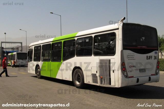 Transantiago - Subus Chile - Marcopolo Gran Viale / Volvo (BJFF36) (7214)