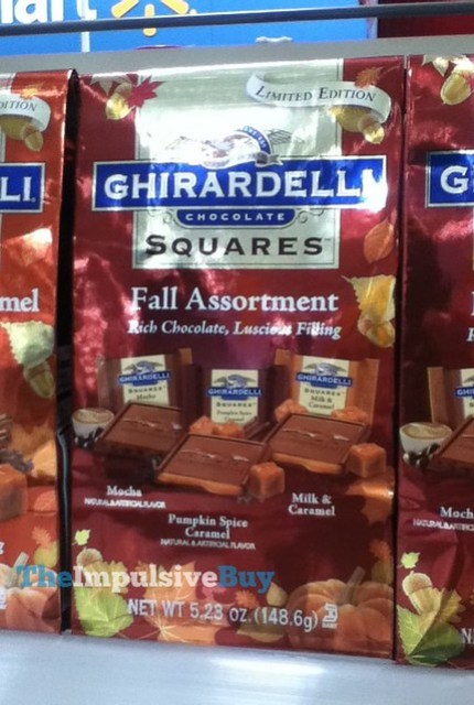 Ghirardelli Limited Edition Fall Assortment Chocolate Squares