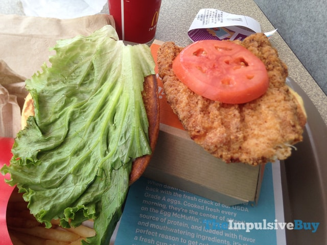 McDonald's Buttermilk Crispy Chicken Sandwich 2
