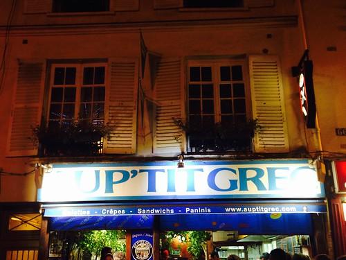 AuP'tit Grec, Paris