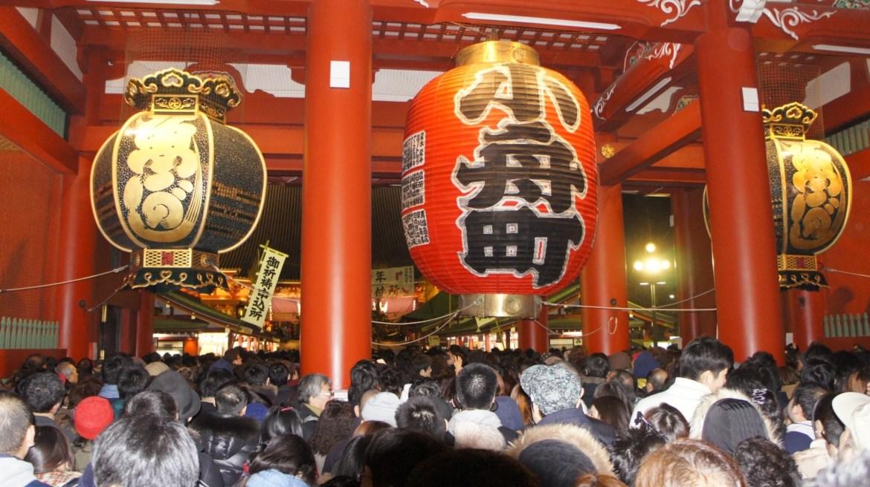 Hatsumode Asakusa Sensoji Temple