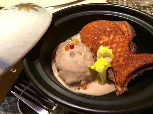 エスプレッソのアイスクリームとたい焼き@西麻布 けんしろう
